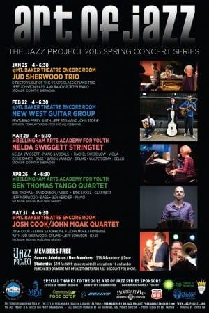 The Jazz Project 2015 Art of Jazz Series, Bellingham WA