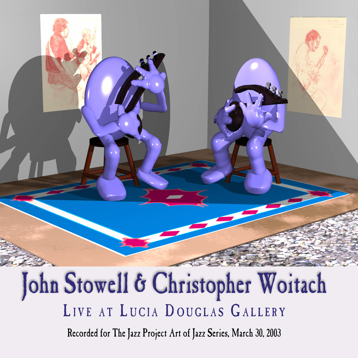 John Stowell & Christopher Woitach:: Live at Lucia Douglas Gallery