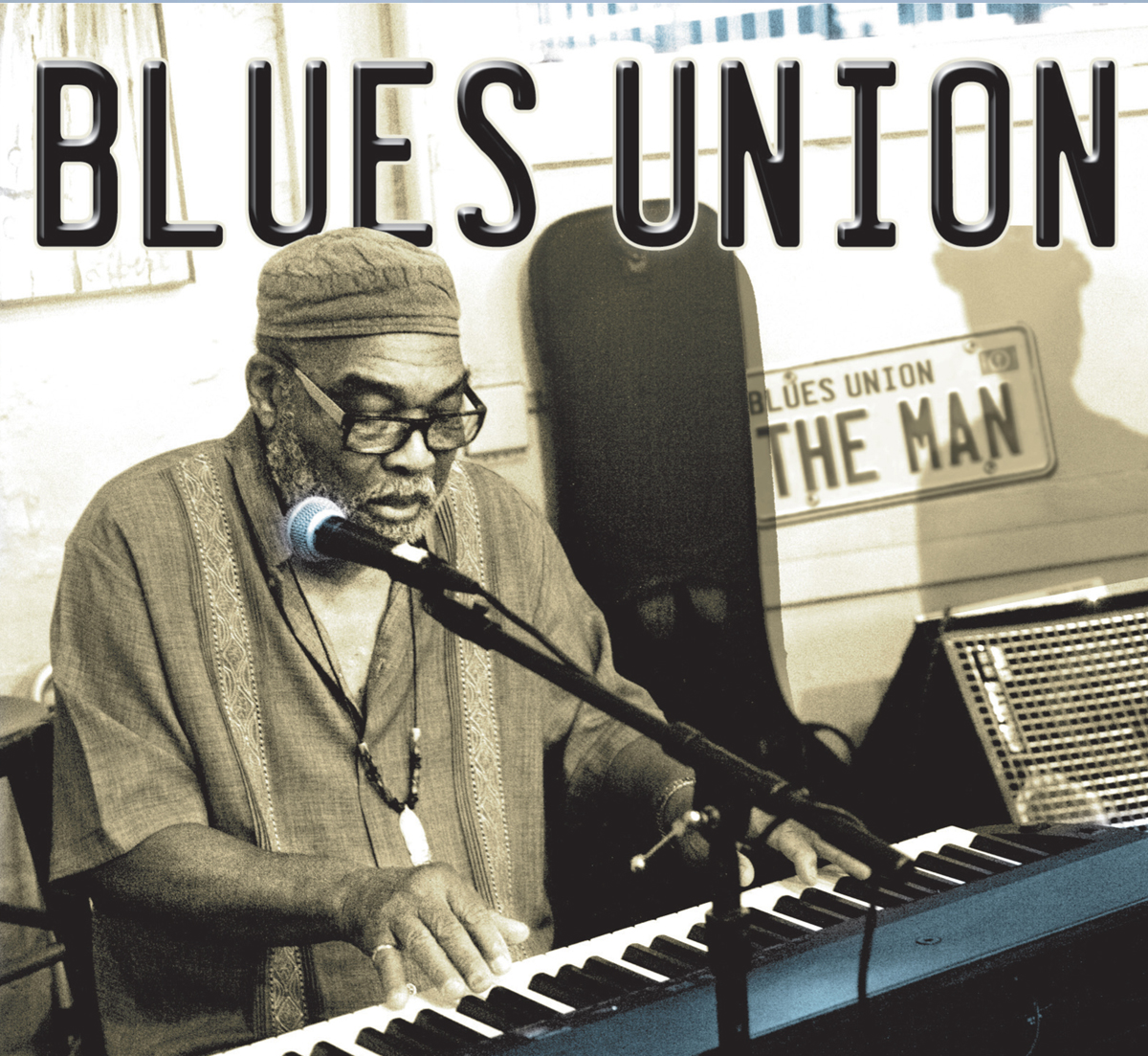 "Blues Union ""The Man"" from The Jazz Project. Carswell Sherwood Cook"